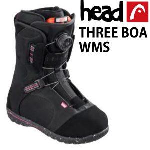 HEAD SNOWBOARD BOOT THREE BOA WMN